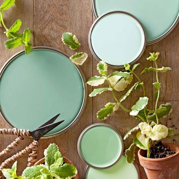 Trend Spotting: Mint Green