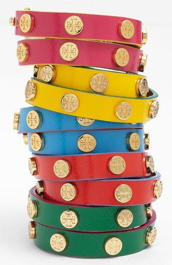Wrap Logo Bracelets // Tory Burch