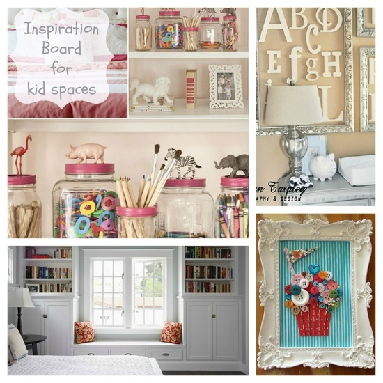 inspiration for kids' spaces