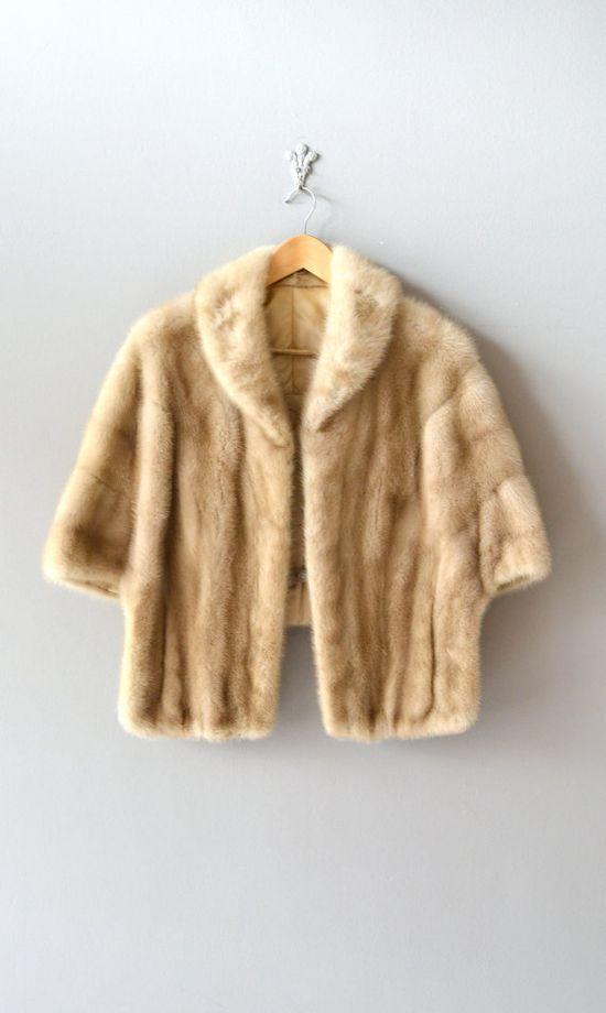 1950s fur stole