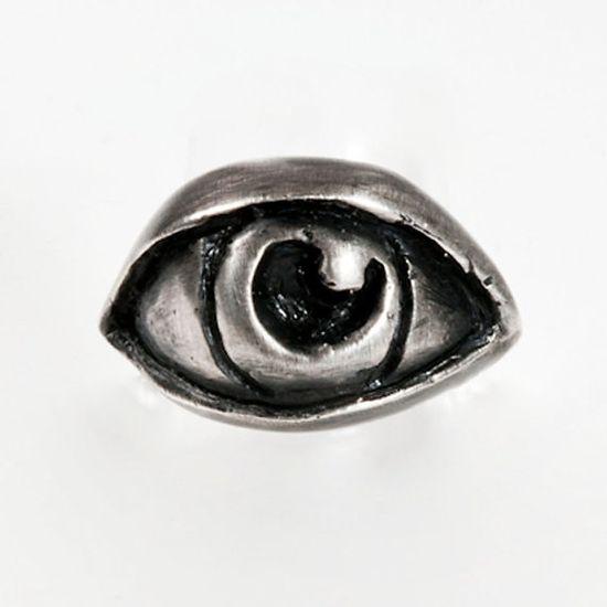 sterling eye ring