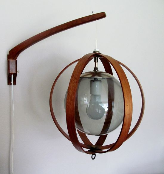 Mid Century Wall mounted lamp (sold)