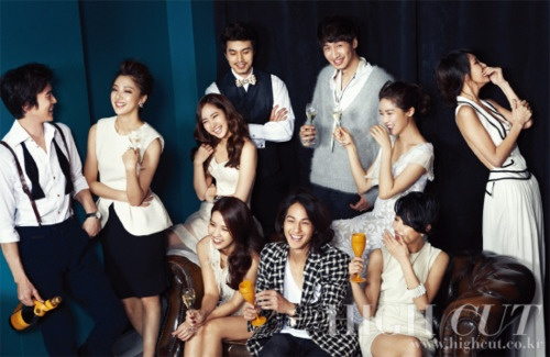 some of my favorite korean stars in this photo...