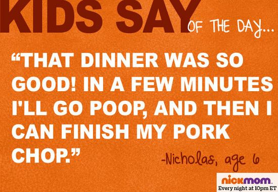 "Funny ""Kids Say"" from NickMom  #cbias #shop #MotherFunny"