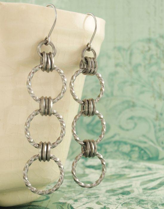 nice earrings to make!