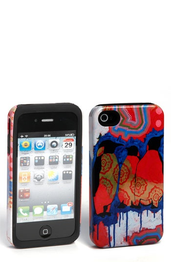 """My """"Life on a Cloud"""" painting on an iPhone case at Nordstrom!! (case in collaboration with Case-Mate)"""