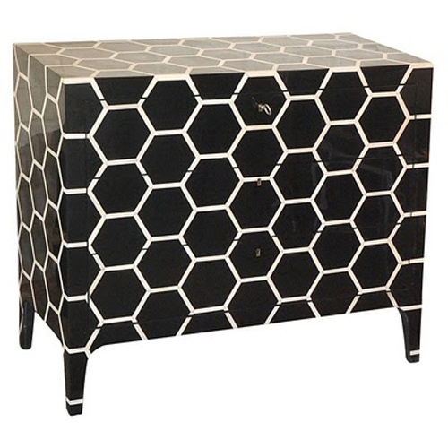 awesome. pattern on furniture.
