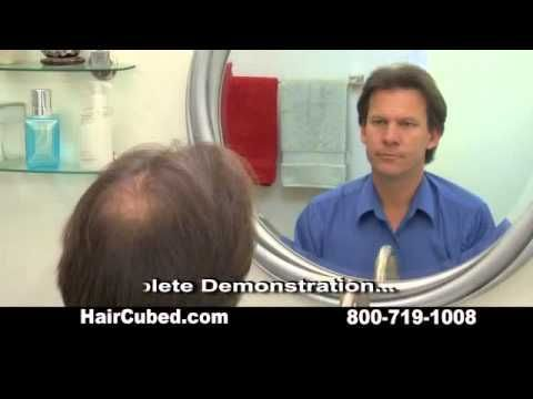Thinning Hair Solution - HairCubed - Funny #funny ads #funny commercial #interesting ads #commercial ads