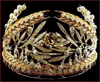 Russian field tiara