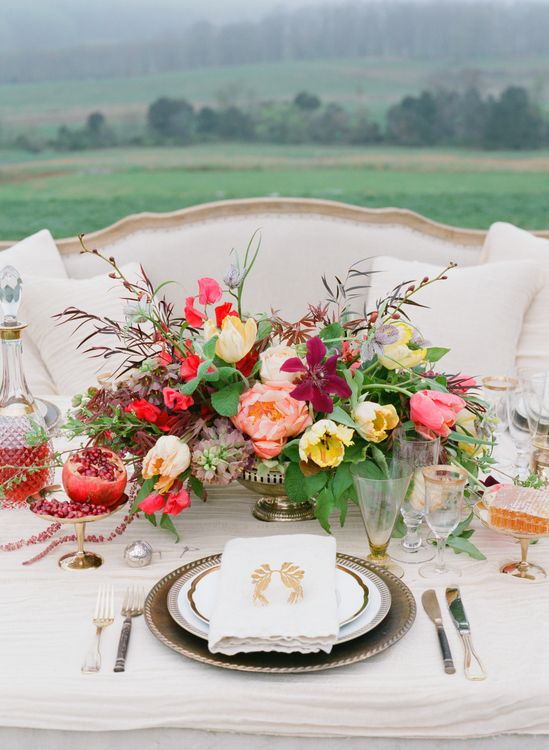 Fall Flower Trend: Big Blooms // Jen Fariello Photography // From: 7 Hot Fall Wedding Trends to Steal Right Now // blog.theknot.com/...