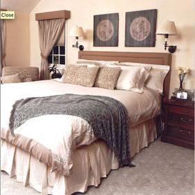 #DebearDesign Clean, simple bedroom #design.