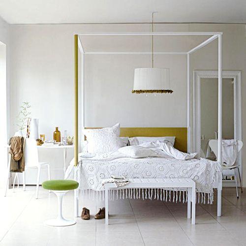 lovely white bedroom!