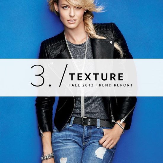 Fall 2013 Trend Report: Texture