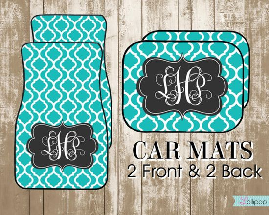 Personalized Car Mats-Design Your Own Custom Car Mats on Etsy, $35.00