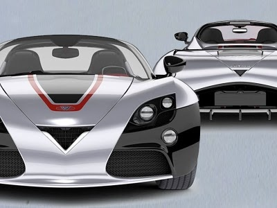 Super Sport Car: Venturi Fetish Electric Sport Cars