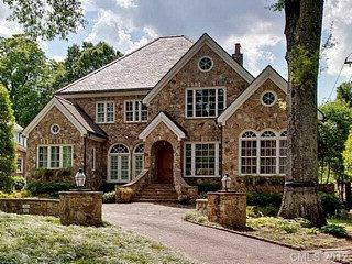 pretty stone home