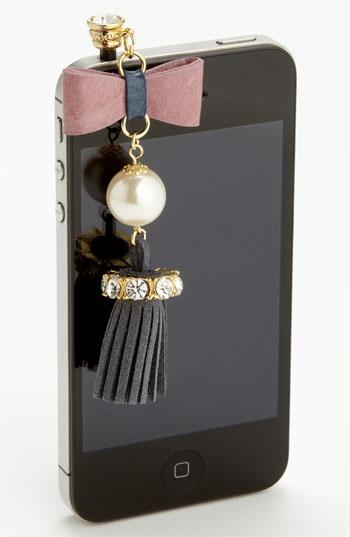 Cara Accessories 'Tassel' Smart Phone Charm