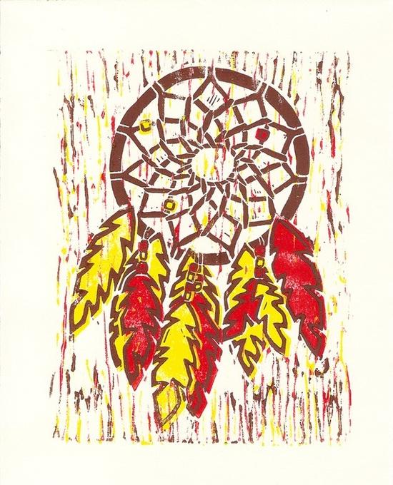 Loving modern native american art right now.