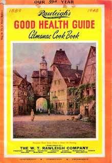 Rawleigh's Good Health Guide Cookbook 1948