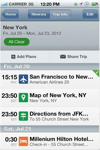 7 Great Travel Apps