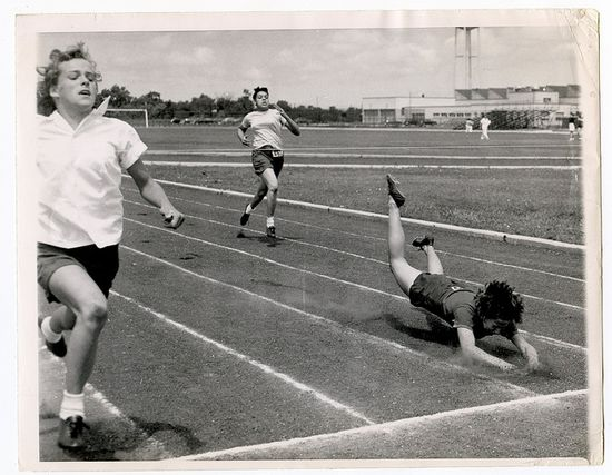Sprint race-  I remember sports  day at school !