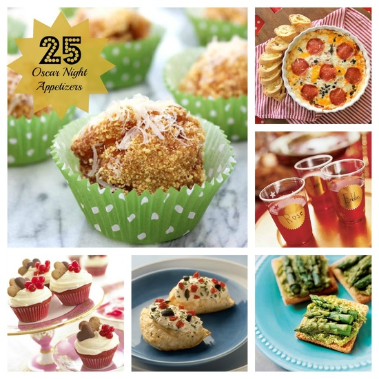 25 Oscar® Night Snacks and Appetizers