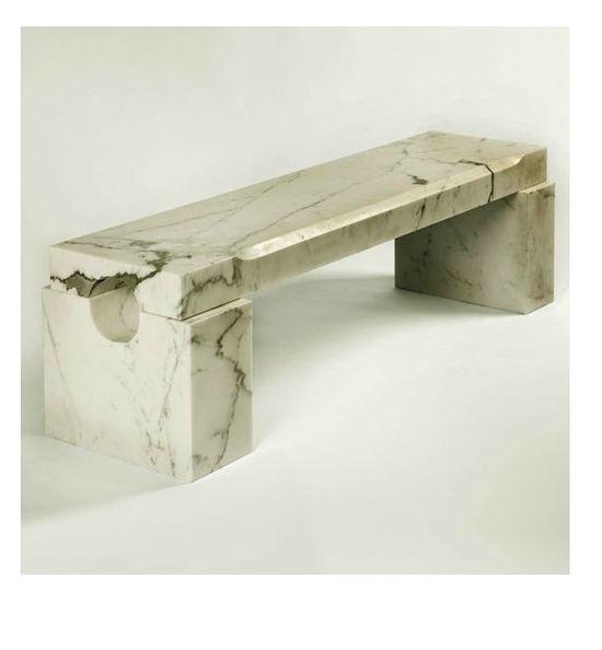 // jean de merry marble bench