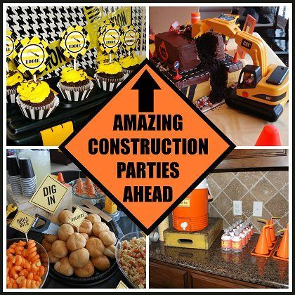 10 Amazing Creative Construction Parties!