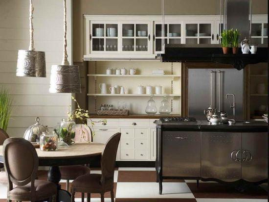 Elegant Modern Farmhouse Style Kitchen Design