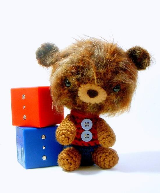 """Bear brother - Crochet Amigurumi doll / toy pattern / PDF"" #Amigurumi  #crochet"