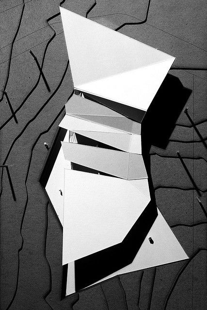 *architecture, architectural models * - Pullen Art Center - Final Model