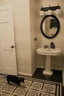 DIY Show Off - Main Bathroom Before and After Reveal {Shades of Gray} - DIY Show Off ™ - DIY Decorating and