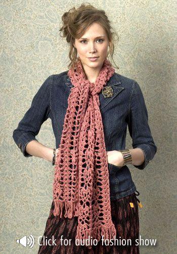 scarf free #crochet pattern