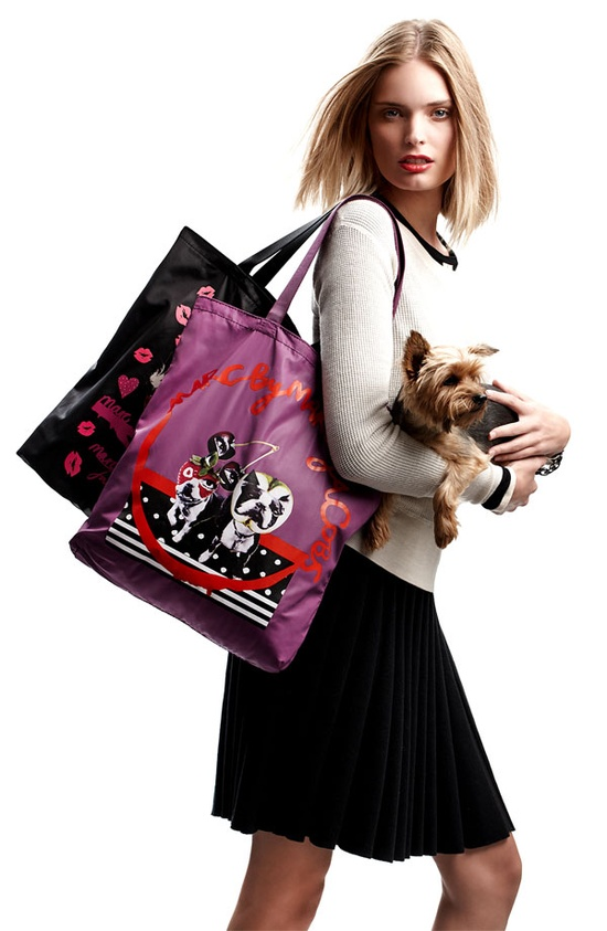 Night Out:   MARC BY MARC JACOBS 'Birds Mash Up' Tote #Nordstrom #Holiday