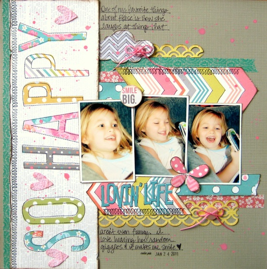 Lovin' Life {Love My Tapes} - Scrapbook.com