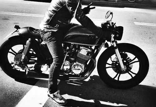 #motorcycle #motorbike #blackandwhite