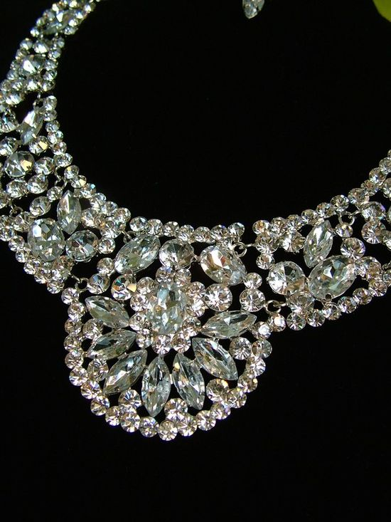 1930s Rhinestone Necklace