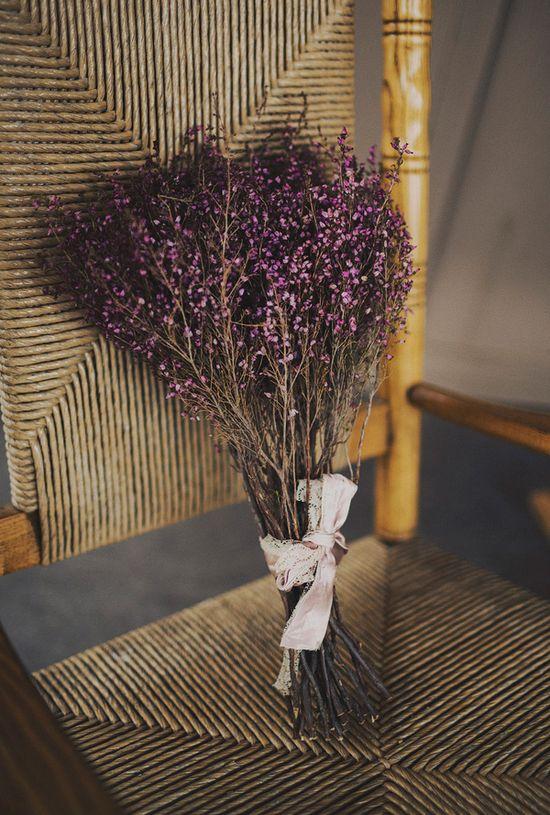 dried flower bouquet // photo by Ariel Renae