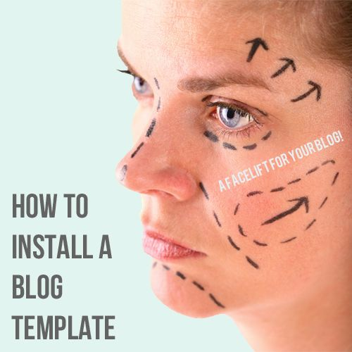 How to Install a free Blogger Template