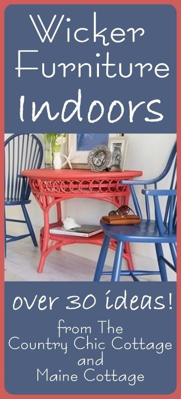 Wickerr furniture ideas