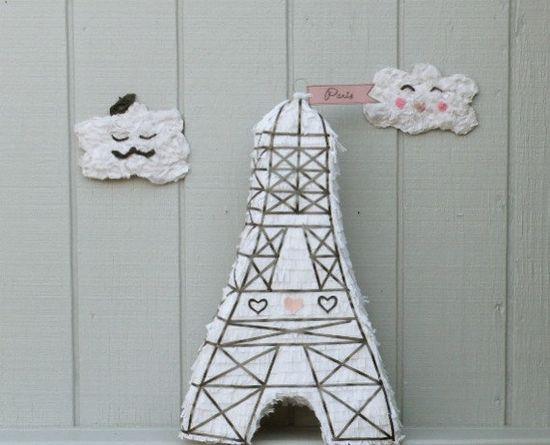 Eiffel Tower Pinata