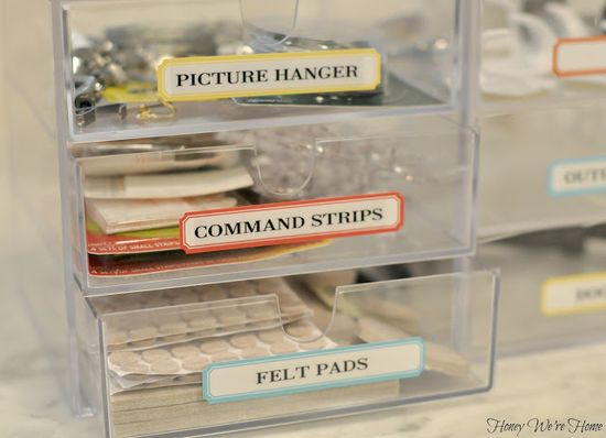 Organizing the little things in your home