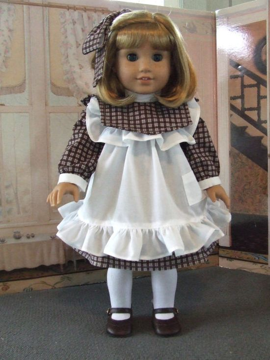 American Girl NelliePlay Dress and Apron by agseamstress on Etsy, $54.00