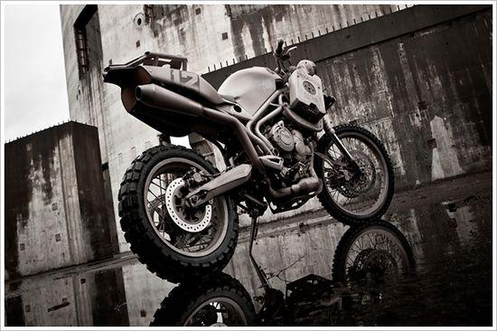 "Icon's Triumph Tiger 800XC -""Dromedarii"" - Pipeburn - Purveyors of Classic Motorcycles, Cafe Racers & Custom motorbikes"