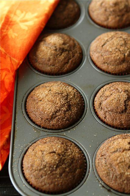 Whole Wheat Pumpkin Spice Latte Muffins