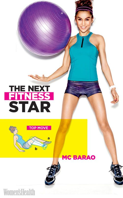 Try the modified V-up, an exercise from The Next Fitness Star finalist MC Barao: www.womenshealthm...