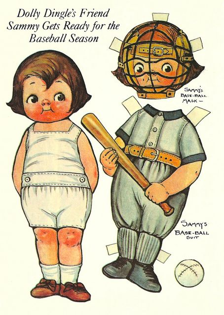 Dolly Dingle's Friend Sammy Gets Ready for the Baseball Season