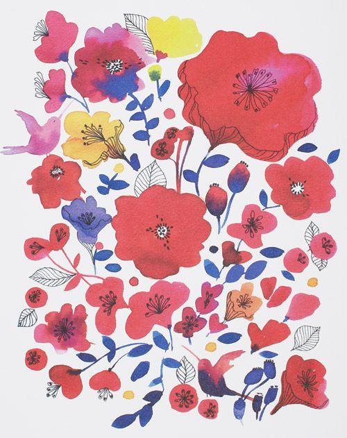 #yearofcolor illustration by marie-klara