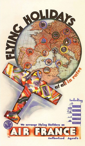 Flying Holidays (Air France), 1936