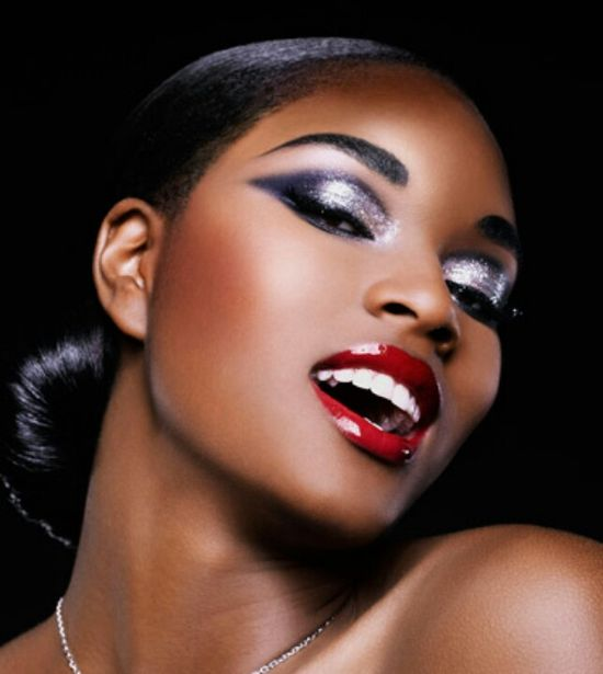 Glamorous Make up for dark skin tones brown skin pretty